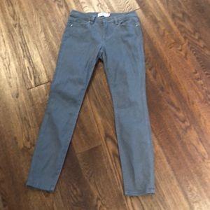 Cabi grey high skinny jean